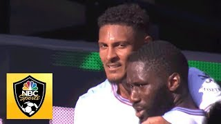 Sebastien Haller scores bicycle kick to put West Ham up 3-1 v. Watford | Premier League | NBC Sports