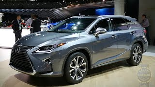 2018 Lexus RX 350L 3-row - 2017 Los Angeles Auto Show
