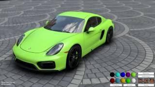 Unity 5.5 Realistic Graphics. Car Customization. Physics Test