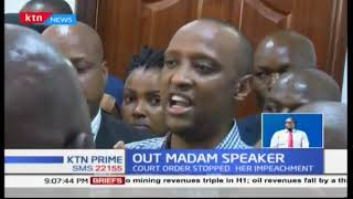 "Nairobi MCAs fail to eject Speaker Elachi from office over ""failed trips"" to the US"