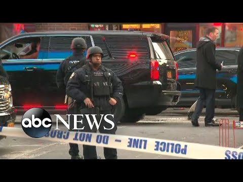 New York City on heightened alert after ISIS-inspired attack