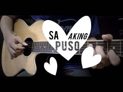 Sa Aking Puso - Ariel Rivera (fingerstyle guitar cover) FREE TABS