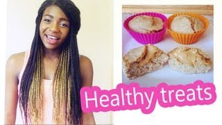 Healthy Treats: Peanut Butter Filled Muffins ♡