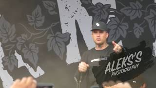 The Amity Affliction - This Could Be Heartbreak || Warped Tour 2018, Hartford, CT 07/15/18