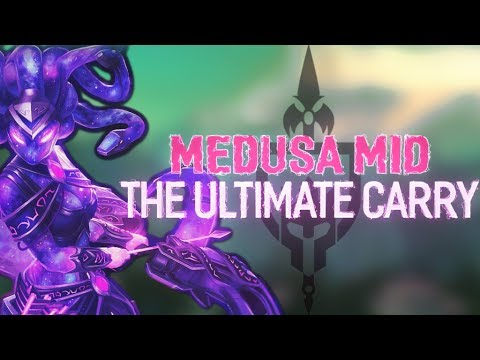 MEDUSA MID: HOW TO CARRY YOUR BRAINS OUT - Incon - Smite
