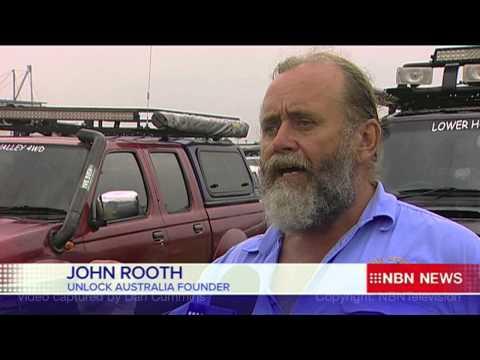 Unlock Australia - Stockton Beach Protest - NBN Television News Coverage