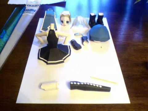 Papercraft Neko Chan Papercraft