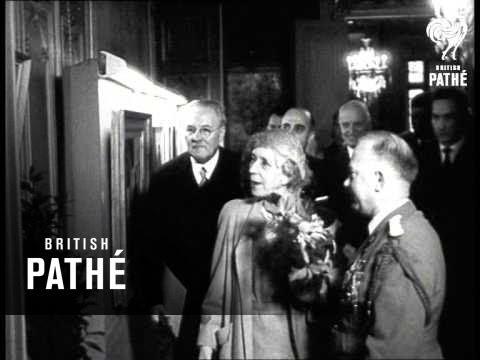 Funeral Of Queen Elisabeth Of The Belgians (1965)