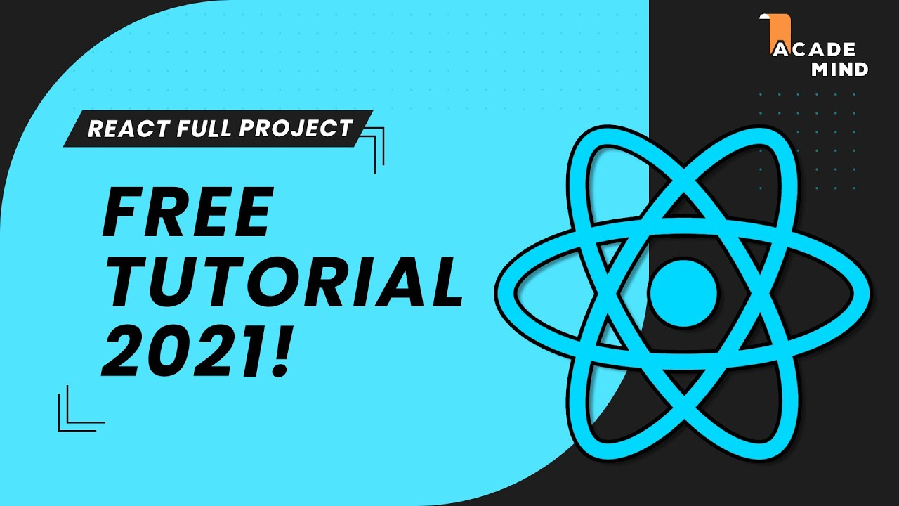 React Crash Course for Beginners 2021 - Learn ReactJS from Scratch in this 100% Free Tutorial!