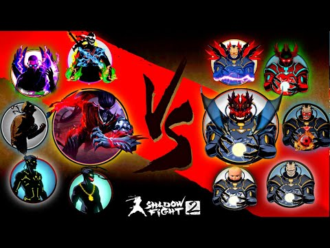 Shadow Fight 2 All Shadow Vs All Titan