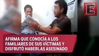 """""""Si salgo, voy a seguir matando mujeres"""", dice feminicida de Ecatepec"""
