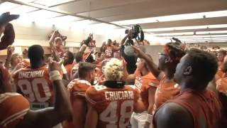 Texas Fight Postgame Celebration [Oct. 10, 2015]