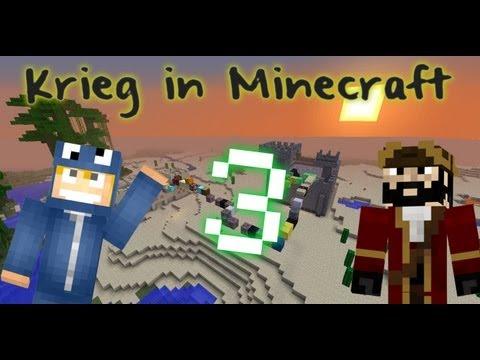 Minecraft Krieg! Episode 3 - Da sind wa wieder!!!