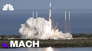 Watch SpaceX Falcon 9 Launch From Cape Canaveral | Mach | NBC News