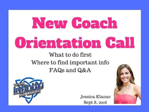 New Coach Orientation Call