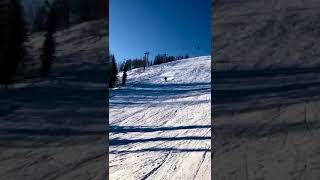 Шерегеш горнолыжный курорт конец февраля 2021