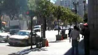 Bankraub in Downtown Los Angeles!