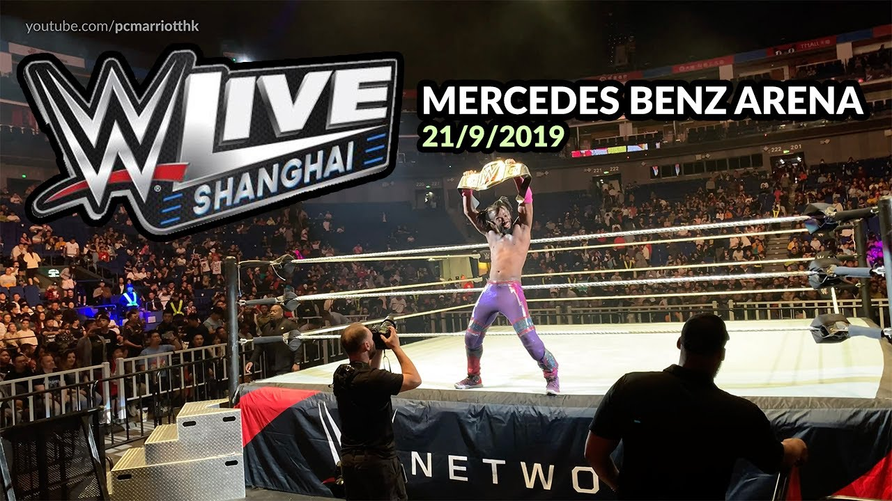 WWE Live event in Shanghai, China - 21/9/2019 - FULL EVENT at Mercedes Benz Arena [4K]