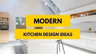 50+ Latest Trends Modern Kitchen Design Ideas We love!
