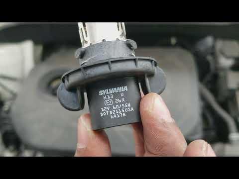 Headlight bulb remove/replace 2016 Kia Soul diy