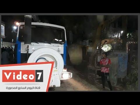 تطهير وإصلاح شبكات الرى فى الأقالتة بالأقصر بمشاركة شركة مياه الشرب  - 21:53-2018 / 9 / 16
