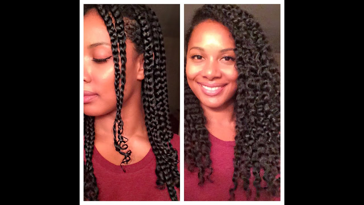 natural hair l defined braid