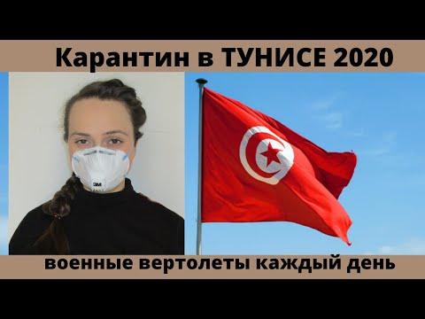#102 Карантин в ТУНИСЕ / наше положение в стране