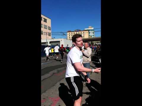 Rory runs the NYC Marathon