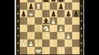 Уроки шахмат - Атака Алехина-Шатара 1