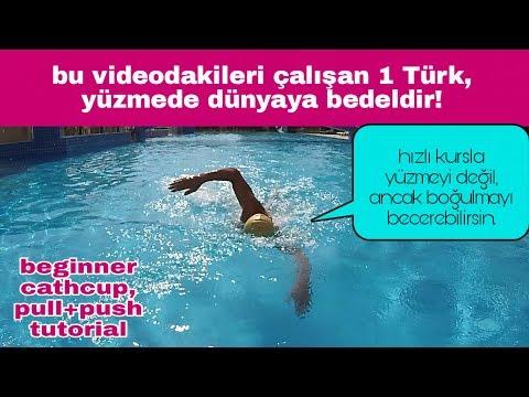 Serbest stil yüzmede kol çekişi/kulaç nasıl yapılır | yüzme nasıl öğrenilir
