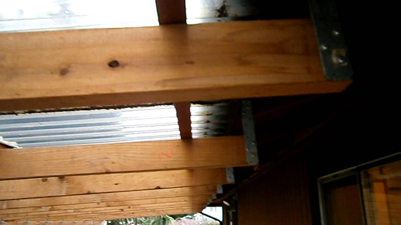 Home Inspector Seattle Talks About Bad Deck Roof Cover