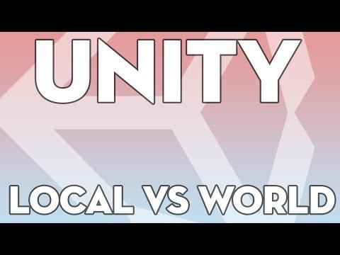 Unity Tutorials - Beginner 18 - Local vs World Space - Unity3DStudent.com