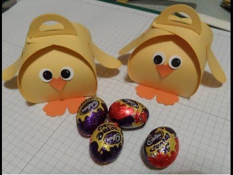 Easter Chick Curvy Keepsake Gift Box