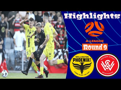 Wellington Phoenix Western Sydney Wanderers Goals And Highlights
