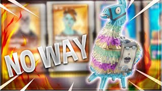 BEST Birthday Llama Opening Ever - I GOT SKULL TROOPER & GHOUL TROOPER! Fortnite Save The World