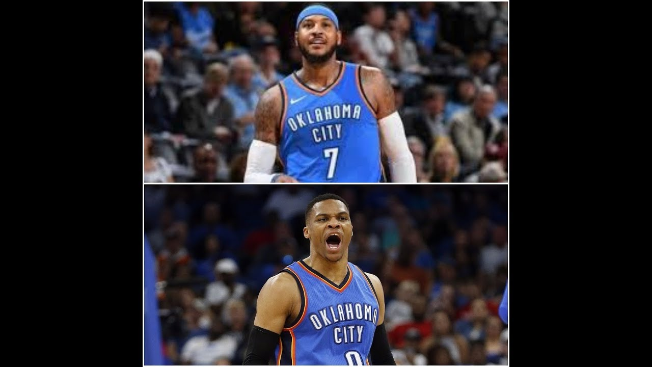620992a9e9c Carmelo Anthony ' sometime i want to fight and push Russell Westbrook for  rebounds