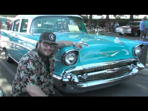 Absolutely Beautiful 1957 Chevrolet Bel Air 4 Door Owned By A Real Faro!