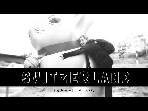 TRAVEL VLOG # 7 - Switzerland // Man flu and chocolate galore!