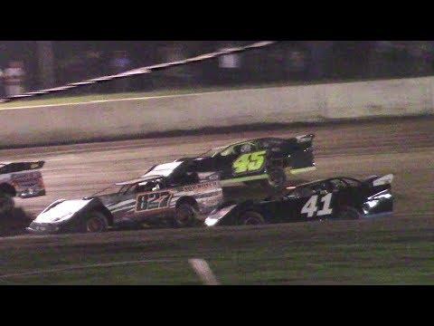 RUSH Crate Late Model B-Main | Eriez Speedway | 9-23-17