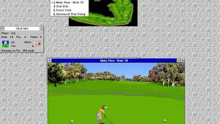 Microsoft Golf 1.0 - Windows 3.11
