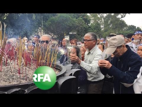 Dozens of Vietnamese Mark Anniversary of War with China | Radio Free Asia (RFA)