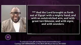 """Pastor Gregory Nelson: """"With an Outstretched Arm & A Mighty Hand"""" - April 4, 2020"""