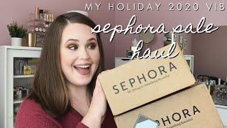 SEPHORA VIB SALE HAUL   New makeup & skincare!   emilysmakeupbag