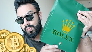 Buying a ROLEX With BITCOIN !!!