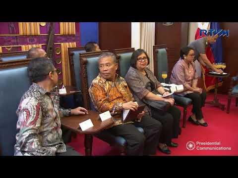 Courtesy Call of H.E. Retno Marsudi, Foreign Minister of Indonesia 1/3/2017