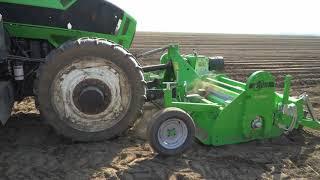 Sadzenie ziemniaków - nawigacja Trimble APMD  z panelem GFX-750 3,8 cm