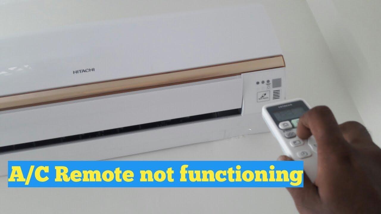 Hitachi split a/c remote sensor not functiong