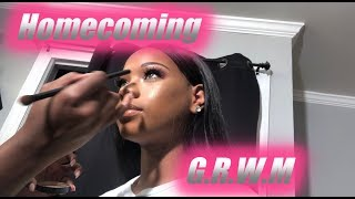 JUNIOR HOMECOMING GRWM 2018