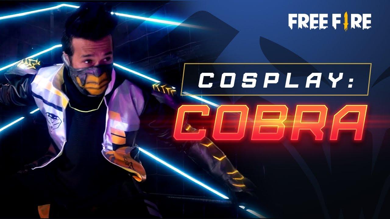 ¡Muestra tu rango de clasificatoria! 😎🔥 - Cosplay de Aspecto Legendario: Cobra 🐍 | Garena Free Fire
