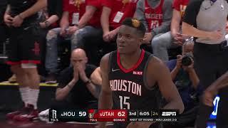 Houston Rockets vs Utah Jazz : April 20, 2019